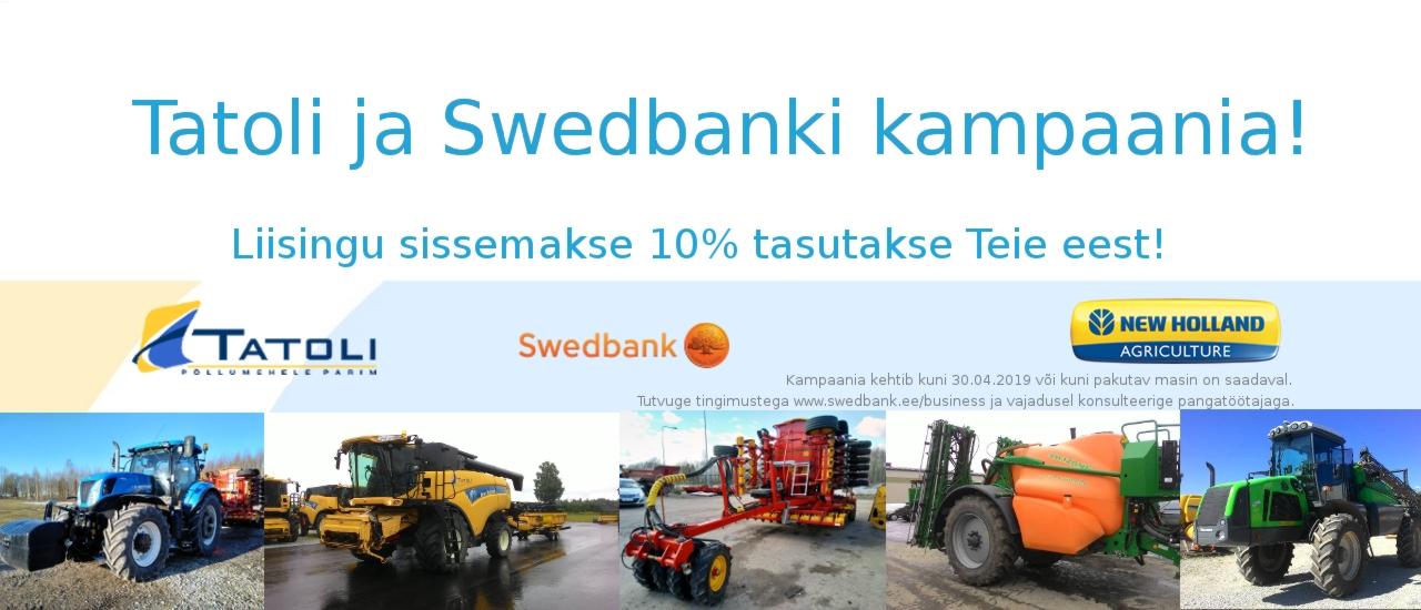 Swedbanki ja Tatoli kampaania 2019 kevad